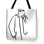 Young Man Tote Bag