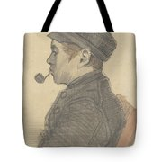 Young Man With A Pipe Nuenen, March 1884 Vincent Van Gogh 1853 - 1890 Tote Bag