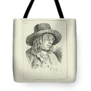 Young Man With Hat Tote Bag