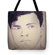 Young Muhammad Ali Tote Bag