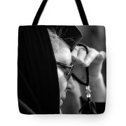 young Orthodox  nun. Tote Bag