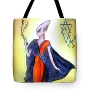 Young Queen Of Space Alien Civilization Tote Bag