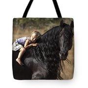 Young Rider Tote Bag