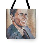 Young Ronald Reagan Tote Bag