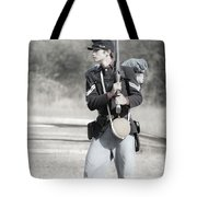 Young Soldier II Tote Bag