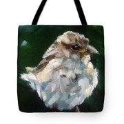 Young Sparrow Tote Bag