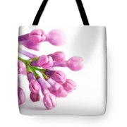 Young Spring Lilac Flowers Blooming Tote Bag