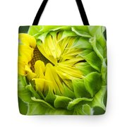 Young Sunflower Tote Bag
