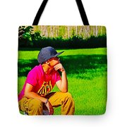 Young Thinker Tote Bag