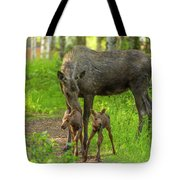 Young Twins Tote Bag