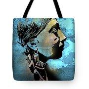Young Wishram Woman Tote Bag
