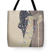 Young Woman In A Summer Kimono, 1920 Tote Bag