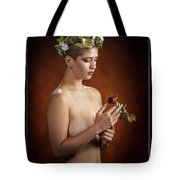 Young Woman Nude 1729.175 Tote Bag