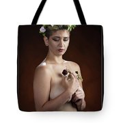 Young Woman Nude 1729.176 Tote Bag