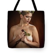 Young Woman Nude 1729.177 Tote Bag