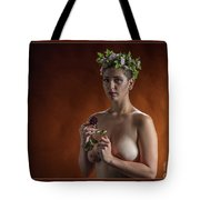 Young Woman Nude 1729.178 Tote Bag