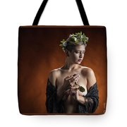Young Woman Nude 1729.179 Tote Bag