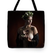 Young Woman Nude 1729.180 Tote Bag