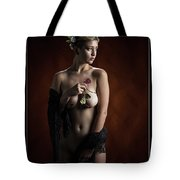Young Woman Nude 1729.181 Tote Bag