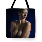 Young Woman Nude 1729.184 Tote Bag