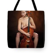 Young Woman Nude 1729.189 Tote Bag