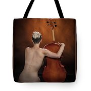 Young Woman Nude 1729.190 Tote Bag