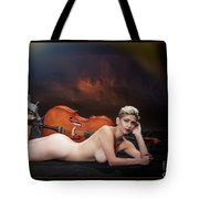 Young Woman Nude 1729.192 Tote Bag
