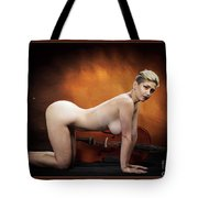 Young Woman Nude 1729.193 Tote Bag