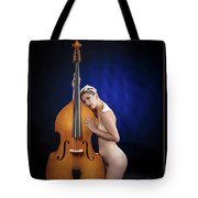 Young Woman Nude 1729.195 Tote Bag