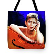 Young Woman Nude 1729.199 Tote Bag
