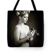 Young Woman Nude 1729.550 Tote Bag