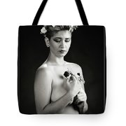 Young Woman Nude 1729.551 Tote Bag