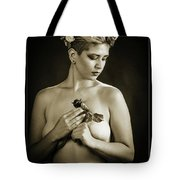 Young Woman Nude 1729.552 Tote Bag