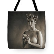 Young Woman Nude 1729.553 Tote Bag