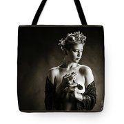 Young Woman Nude 1729.554 Tote Bag