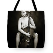 Young Woman Nude 1729.564 Tote Bag