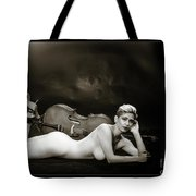Young Woman Nude 1729.567 Tote Bag