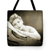 Young Woman Nude 1729.573 Tote Bag