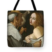 Young Woman With A Fortune Teller Tote Bag