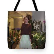 Young Women In Spring Tote Bag