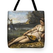Young Women Of Sparta By Jean-baptiste-camille Corot, 1868-1870. Tote Bag