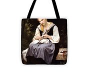 Young Worker 1869 Tote Bag