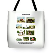 Youngstown Landmarks Montage 2 Tote Bag