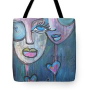 Your Haunted Heart And Me Tote Bag