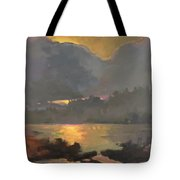 Your Home In The Fingerprint Islands Tote Bag