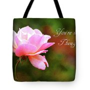 Your In My Thoughts Painting Tote Bag