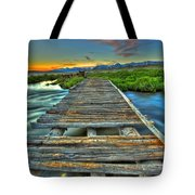 Your Path Lies Before You Tote Bag