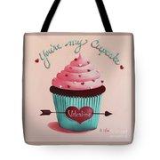 You're My Cupcake Valentine Tote Bag