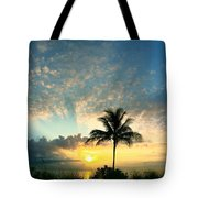 You're Never Alone With A Sunrise Tote Bag
