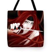 You're Next Tote Bag by Sandra Hoefer